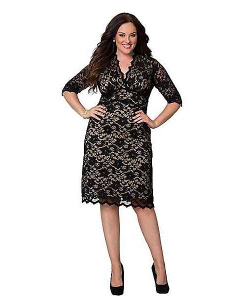 Bocdior Dress scalloped boudoir dress by kiyonna bryant