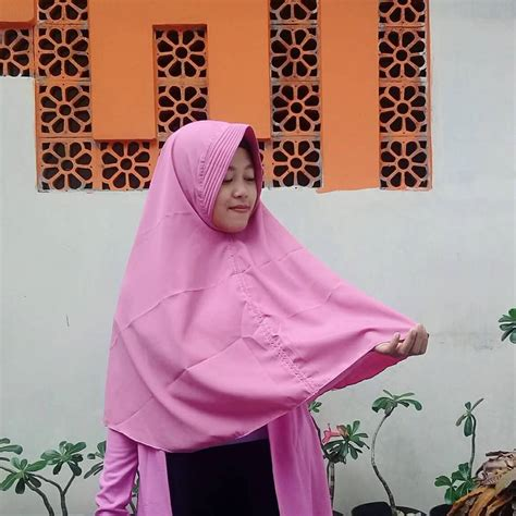 Khimar Simple Rempel Non Pet grosir magelang ghm apparel clothing