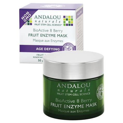 fruit enzyme andalou naturals fruit enzyme mask bioactive 8 berry