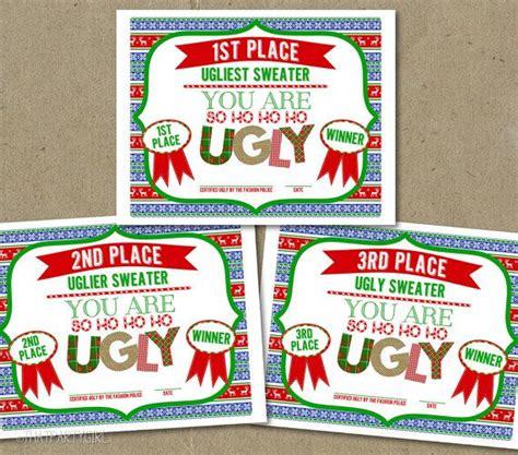 sweater certificate awards prizes sweater certificate