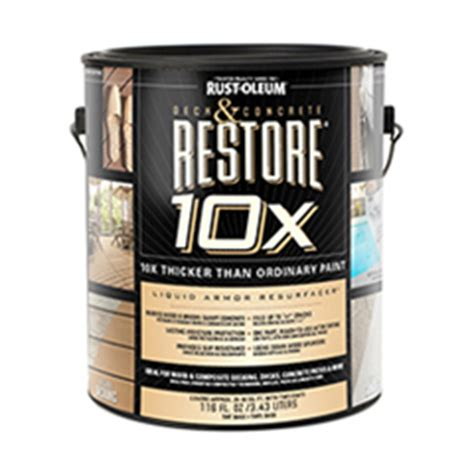 restore 10x colors deck and concrete restore 174 10x