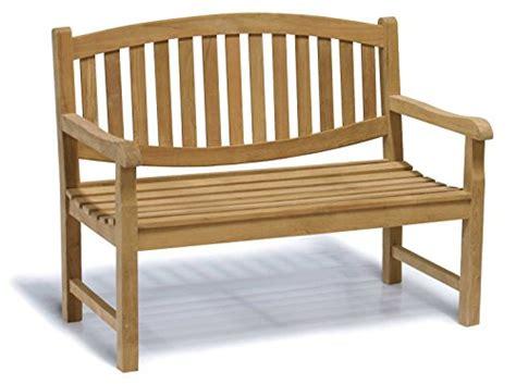 4ft garden bench kennington oval teak 2 seater garden bench 4ft garden bench jati brand
