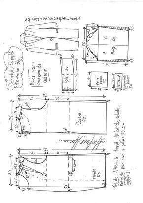 Sobretudo simples | DIY - molde, corte e costura - Marlene
