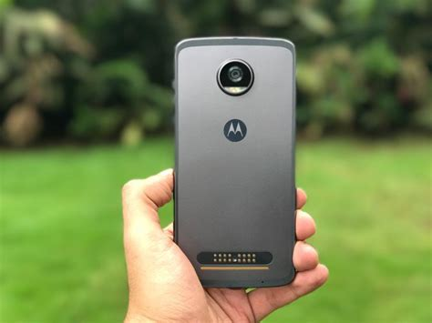 Moto Z2 Play Gold 64gb 4gb Garansi Resmi moto z2 play launched in india specifications