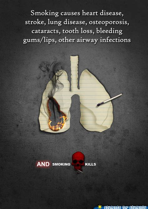 poster design on no smoking anti smoking poster ad 3 by rehanf design on deviantart