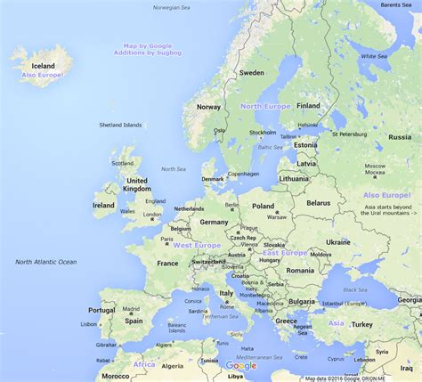 map or europe europe map with schengen area linking to european country