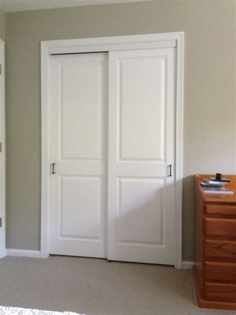 Sliding Panel Closet Doors Closet Doors Traditional Closet Philadelphia By Kestrel Shutters Doors