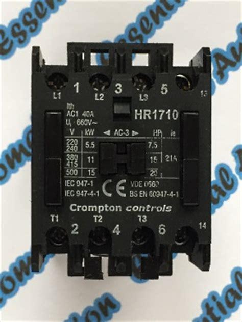 iec contactor wiring diagram