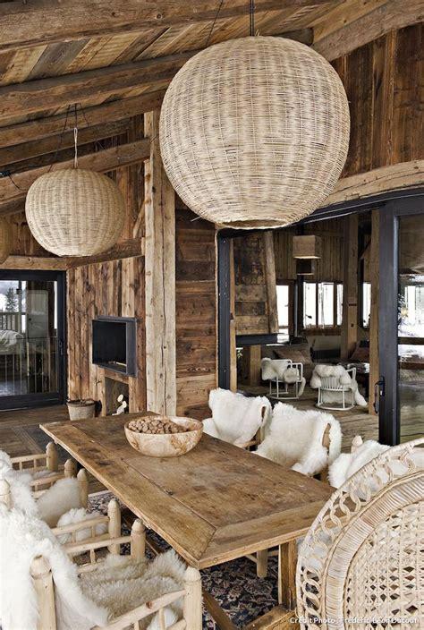 Deco Moderne Chic by D 233 Coration Chalet De Montagne Chic Ou Moderne Les Cocons