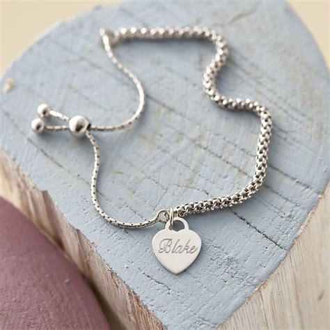 Friendship Bracelet With Charm personalised sterling silver charm friendship bracelet by hurleyburley notonthehighstreet
