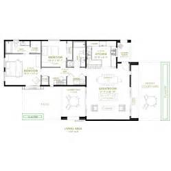 outdoor living floor plans modern two bedroom house plans modern outdoor living