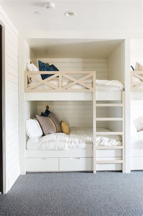 Bunk Bed With Guest Bed Inspired By Bunk Beds For A Guest Room The Inspired Room