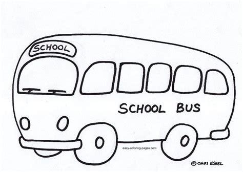 bus coloring pages preschool school bus coloring pages for preschoolers bus coloring