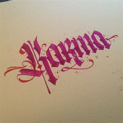 tattoo ideas karma 447 best images about calligraphy scripts on