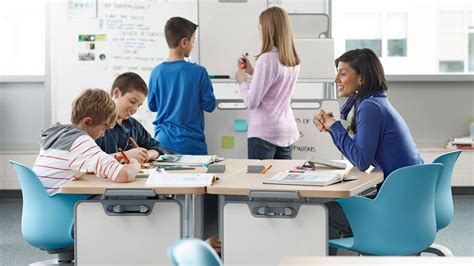Node School Desk by Node Desk Chairs Classroom Furniture Steelcase
