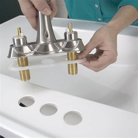 kitchen sink faucet installation how to replace a kitchen faucet installation guide step