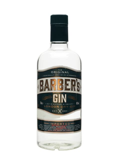 Gin Bar Accessories Barber S Gin Buy From The Whisky Exchange