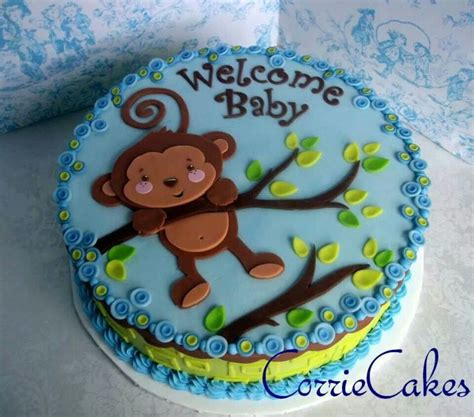 Monkey Boy Themed Baby Shower by 566 Best Monkey Cakes Images On Monkey Cakes