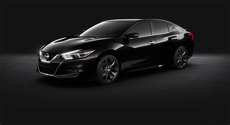 black nissan 2016 2016 nissan maxima sr midnight black aluminum alloy wheels