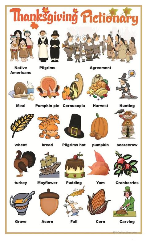 playing charades pictionary for language practice thanksgiving pictionary worksheet free esl printable