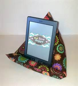stand kindle stand pillow gadget by