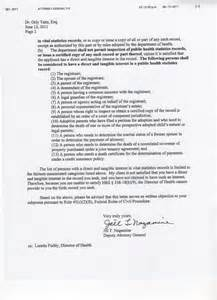 Certification Letter For Subpoena white house posts pdf of certificate of live birth i