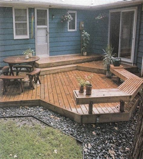 Backyard Small Deck Ideas Small Backyard Deck Ideas Marceladick