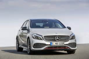 Mercedes Class A 2016 Mercedes A Class Gets Updates A45 Amg Gains More