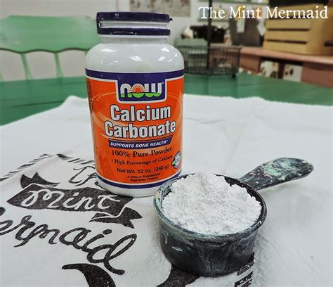 chalk paint recipe calcium carbonate the mint mermaid chalk paint recipe