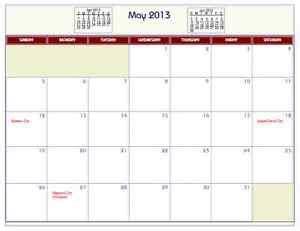 printable house of commons calendar printable pdf wall calendar with common holidays 2011
