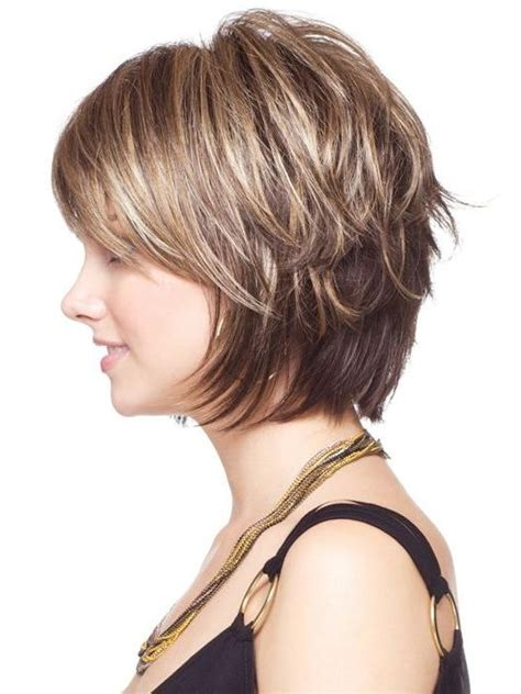 the 25 best short bob bangs ideas on pinterest bob photo gallery of layered bob hairstyles for short hair viewing 5 of 15 photos
