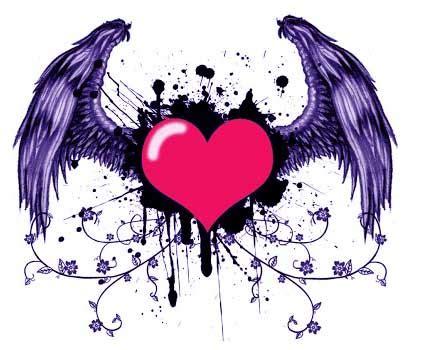 imagenes de corazones alas im 225 genes de corazones con alas im 225 genes