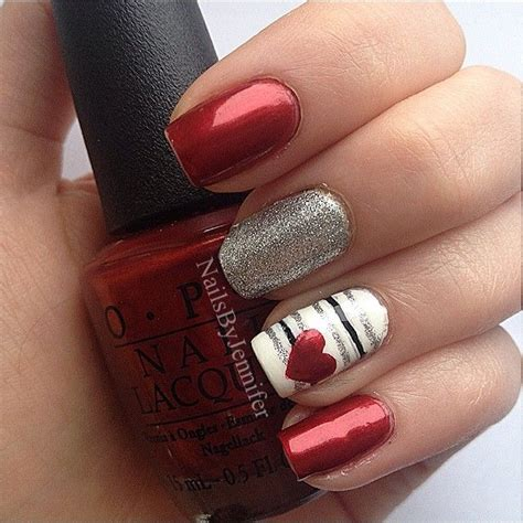valentines nails design 22 nail designs for your s day pretty