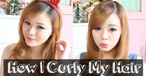 tutorial rambut wave tutorial how i curly my hair plus review repit magic brush