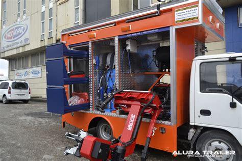 mobile workshop alura trailer turkey mobile workshop trucks