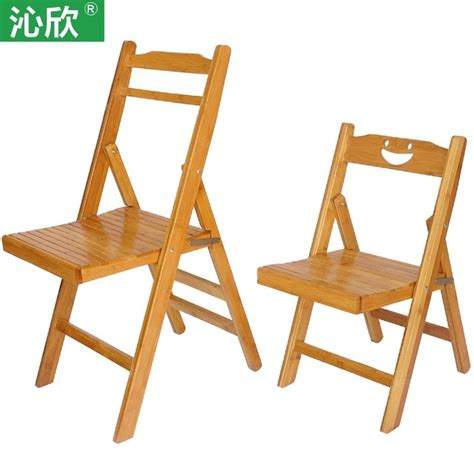 Small Wood Chair by Bamboo Folding Chairs Office Outdoor Portable Chairs
