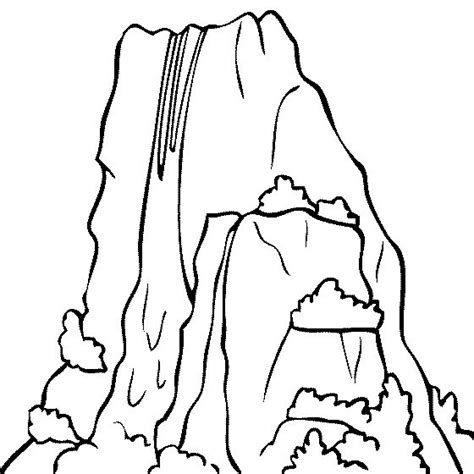 coloring page waterfall 613 best images about travel theme classroom on pinterest