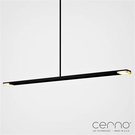Linear Pendant Lighting Virga Led Linear Pendant Light Cerno Metropolitandecor