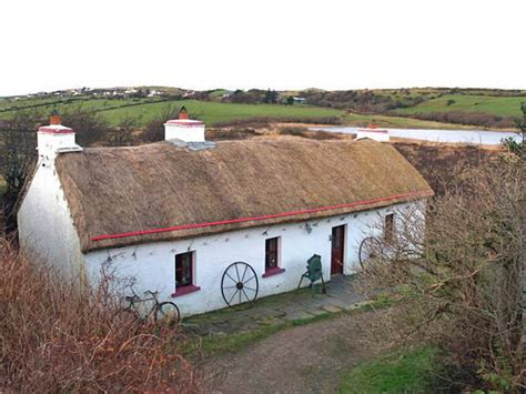 thatched cottages in ireland thatched cottages mckee family from donegal