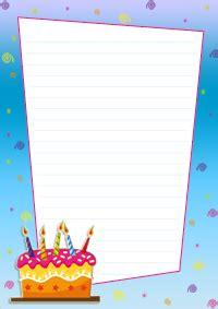 Modèles De Lettre Anniversaire Papier 224 Lettres Turbulus Jeux Pour Enfants