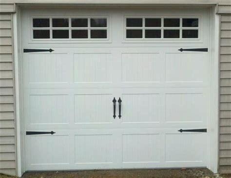 Decorative Garage Door by Decorative Garage Door Carriage House Hardware 6pc Set