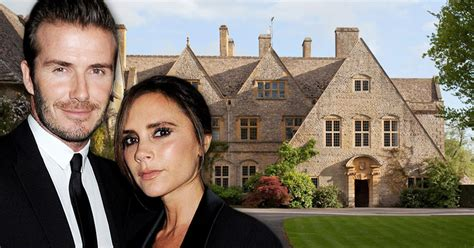 david beckham house inside david and victoria beckham s 163 27 million countryside estate with land for