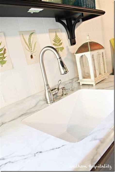 karran undermount sinks for laminate karran and formica countertop calacatta marble
