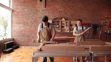 couch makers secondhand stories daniel chaffin furniture makers youtube