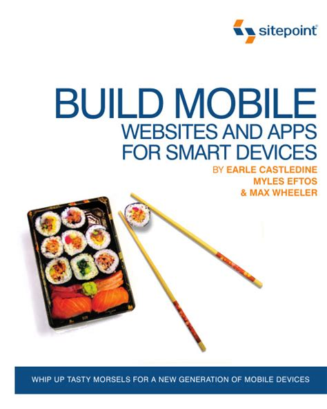 build a mobile app for free build mobile websites and apps for smart devices pdf free