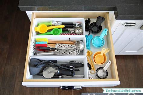 organize kitchen drawers organized kitchen utensil drawer the side up
