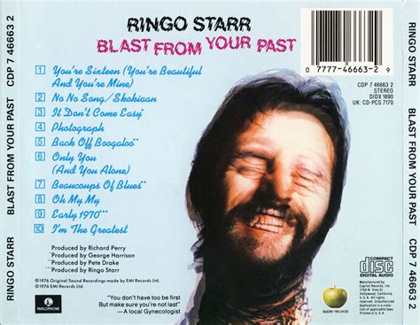 ringo starr blast from your past ringo starr blast from your past 1975 avaxhome