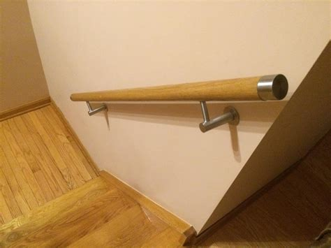 flat end cap for 1 78 quot wood handrail only 16 50 wall