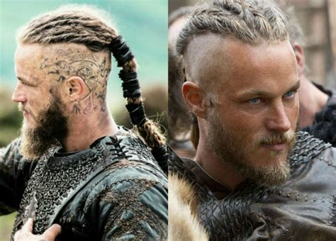ragnar lodbrok hairstyle travis fimmel als ragnar lothbrok the vikings staffel
