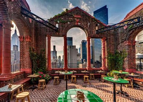 Top Roof Bars In Nyc by Nyc S 10 Best Rooftop Bars Huffpost